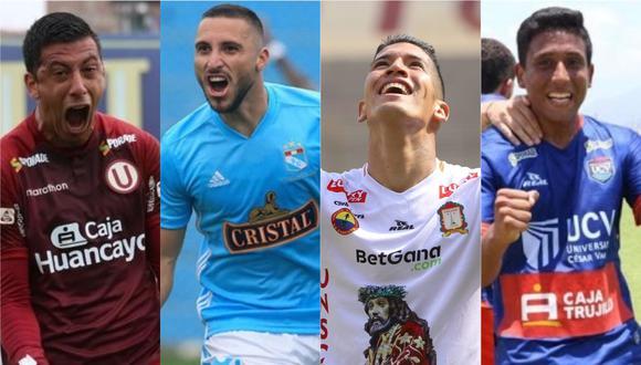 Universitario, Sporting Cristal, Ayacucho FC y César Vallejo disputarán la Copa Libertadores 2021. (Foto: GEC)