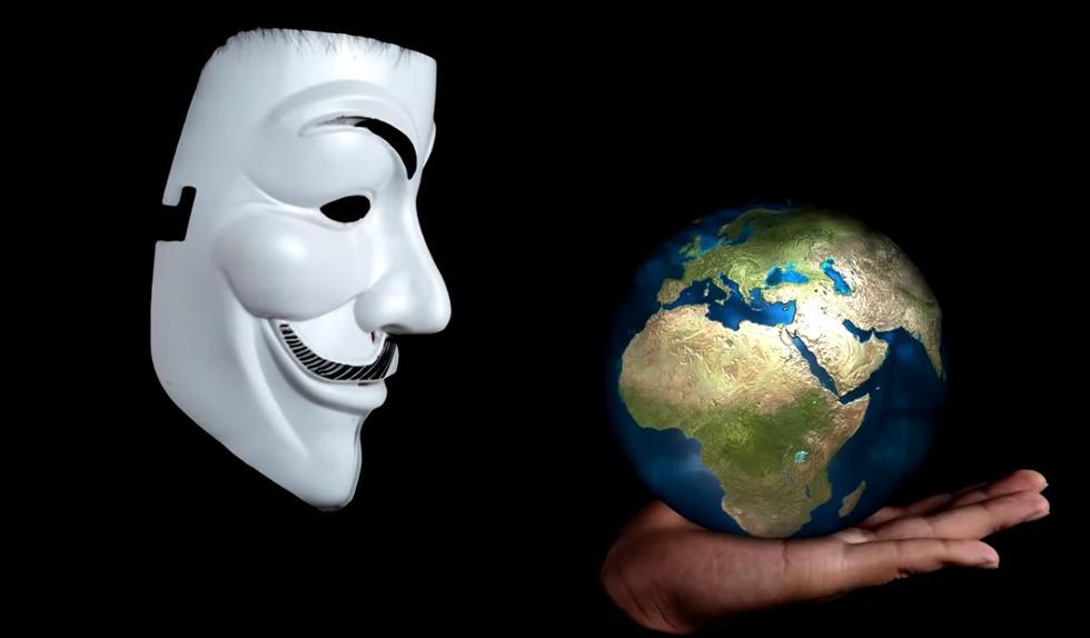 Anonymous, tras su aparición en los últimos días ha puesto en jaque a grandes potencias en el mundo; entre ellas Estados Unidos. (FOTO: Captura)