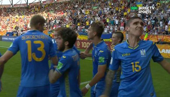 Supriaha anotó el 1-1 de Ucrania ante Corea del Sur por final de Mundial Sub 20