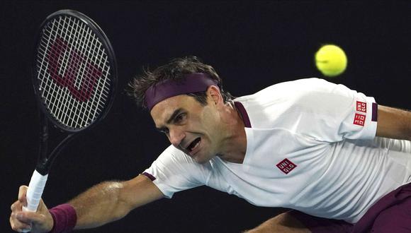 Roger Federer bajó a la séptima casilla del ranking de la ATP. (AP)