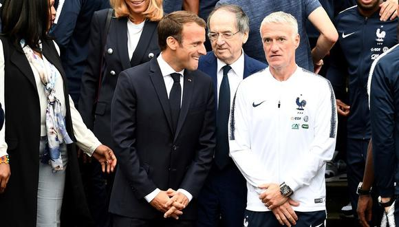 Macron saludó la decisión de Deschamps sobre el regreso de Benzema a Francia. (Foto: EFE)