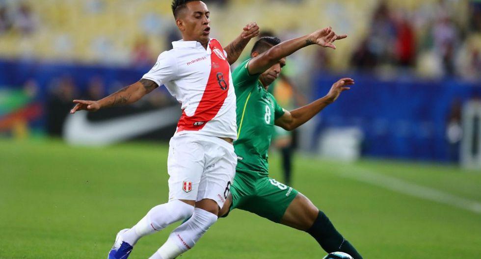 Perú vs. Bolivia en el estadio Maracaná por la Copa América. (Foto: Daniel Apuy / GEC)