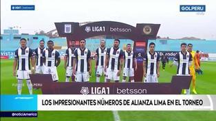 Alianza Lima: Los impresionantes números del cuadro blanquiazul en la Liga 1