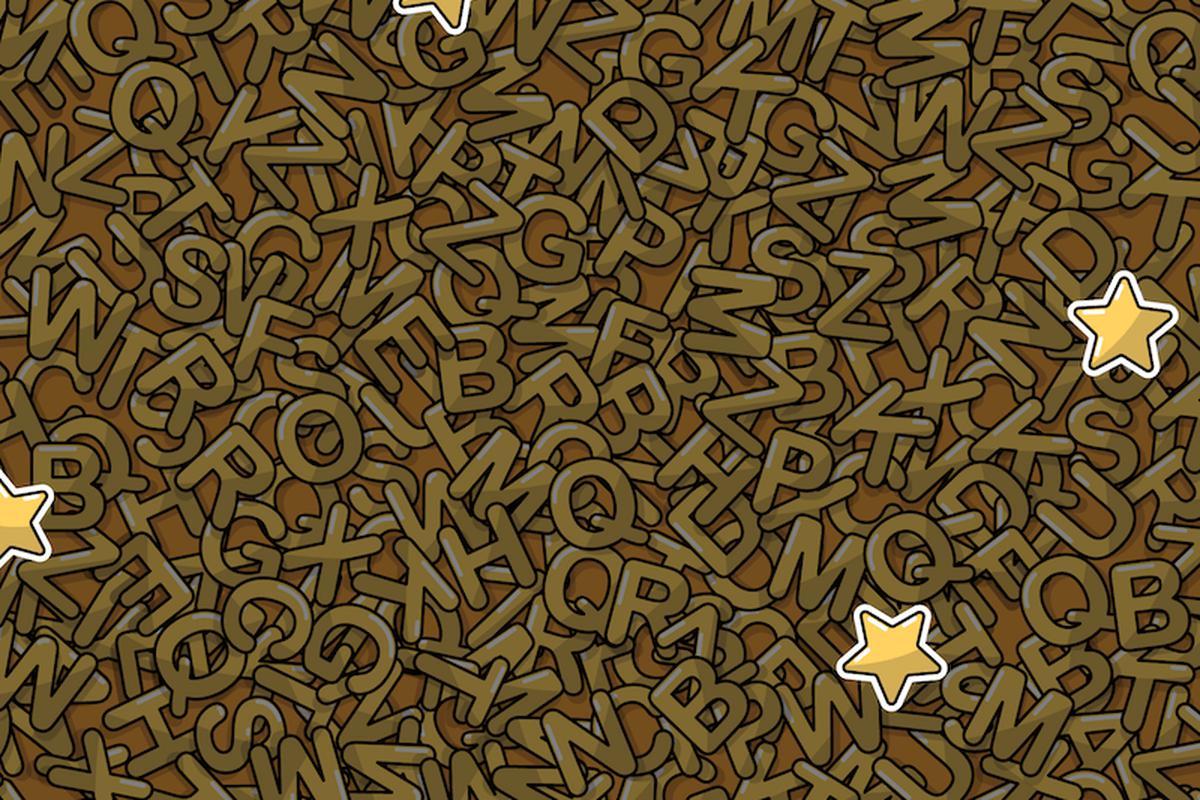 Reto Visual Hoy 2020 Puedes Ver Las 5 Estrellas Camufladas Entre Las Letras Doradas Foto Facebook Redes Sociales Virales Tendencia Reto Viral Trends España México Perú Estados Unidos Usa Off Side Depor