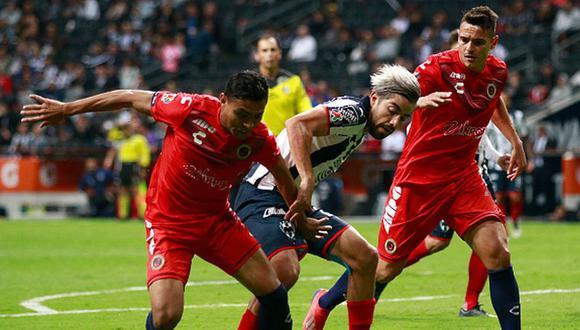 Monterrey empató 1-1 con Veracruz por la fecha 17 del Apertura 2019 Liga MX. (Getty)