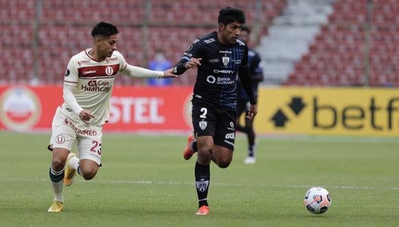 Universitario perdió 4-0 ante I. del Valle (Foto:Agencias)
