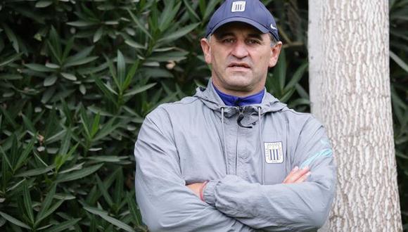 Carlos Bustos destacó el trabajo de Hernán Barcos contra Cusco FC. (Foto: Alianza Lima)