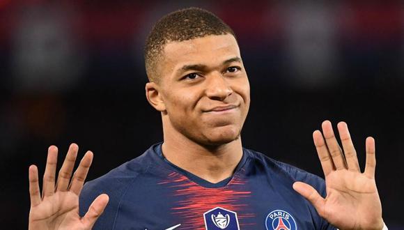 Kylian Mbappé tienen contrato con Paris Saint Germain hasta junio del 2022. (Foto: Agencias)