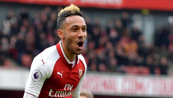 Aubameyang llegó al Arsenal en enero de 2018 por algo más de 63 millones de euros (Foto: Getty)