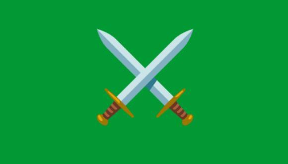 WhatsApp: qué significa el emoji de las espadas cruzadas y cuándo usarlo. (Foto: Emojipedia)