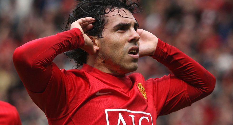 Carlos Tevez jugó dos temporadas con la temporada del Manchester United. (Foto: Getty)