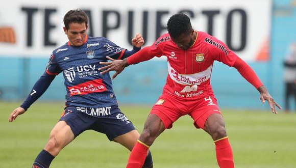 César Vallejo ganó 2-0 ante Sport Huancayo en el Alberto Gallardo. (Foto: Liga 1)