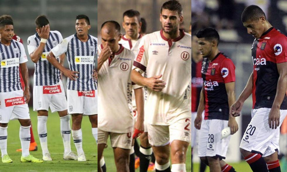 Peores clubes en la fase de grupos de la Copa Libertadores durante los últimos ocho años. (Foto: Agencias)