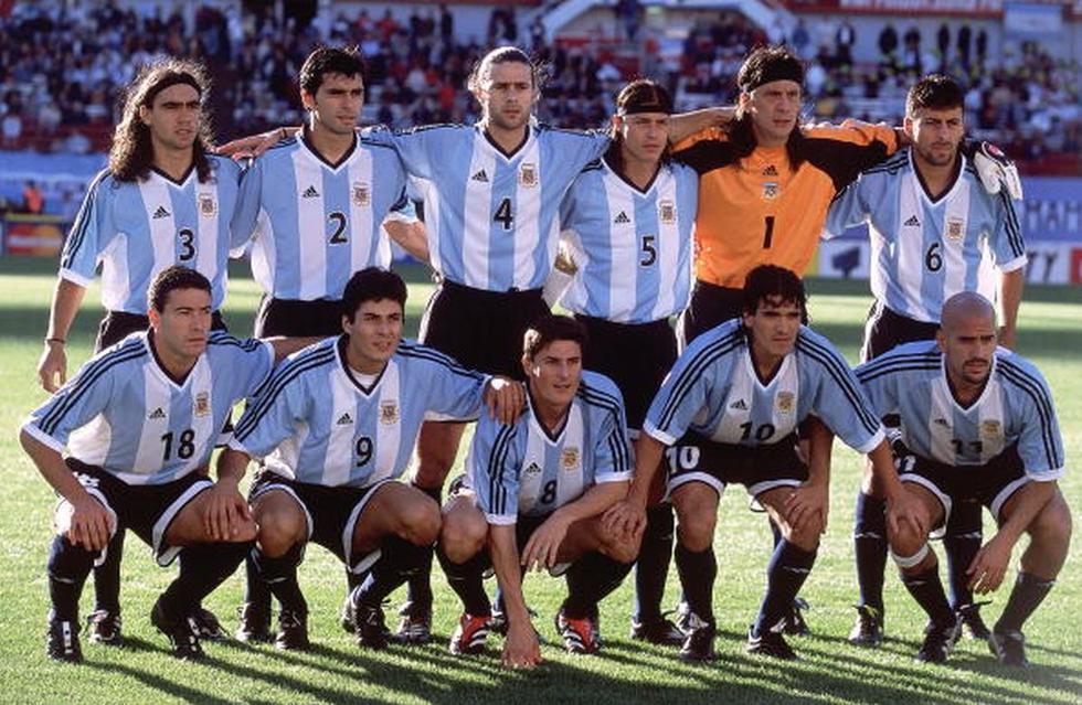 Los argentinos del Mundial 2002 que se convirtieron en entrenadores. (Getty)