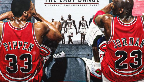 Afiche promocional de 'The Last Dance'. (Foto: Hispanic Sports Media)