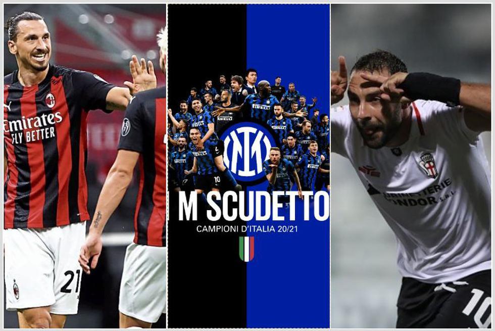 El palmarés de la Serie A de Italia tras título del Inter de Milán. (Getty)