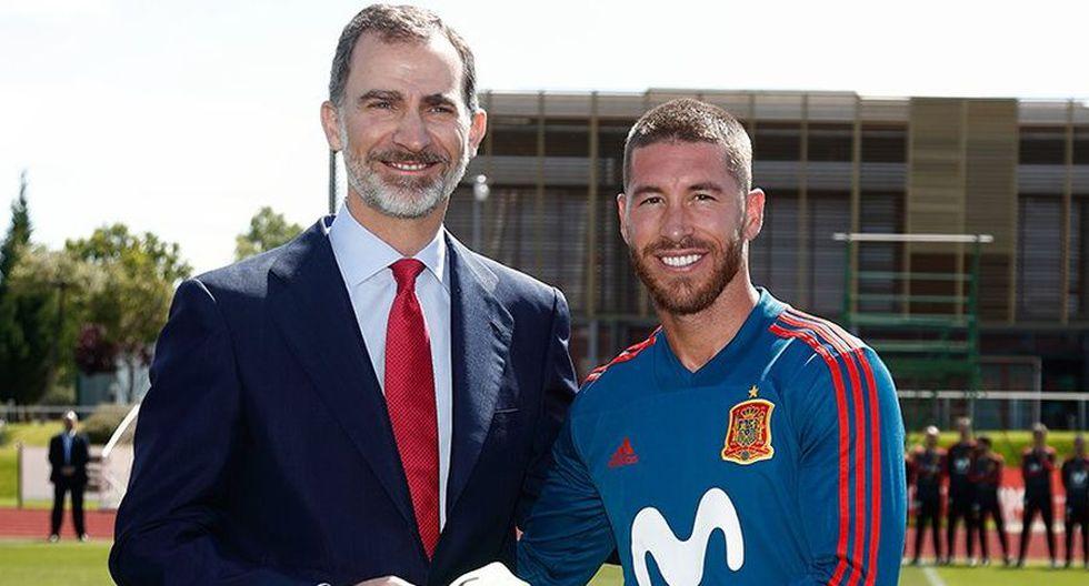 La Selección de España será alentada por el Rey Felipe en Moscú. (@SeFutbol)