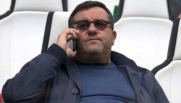 Mino Raiola es representante de jugadores como Zlatan Ibrahimovic, Paul Pogba, entre otros. (Getty Images)