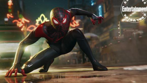 PS5: Spider-Man Miles Morales con ray-tracing en PlayStation 5 es lo mejor que verás hoy. (Foto: EW)