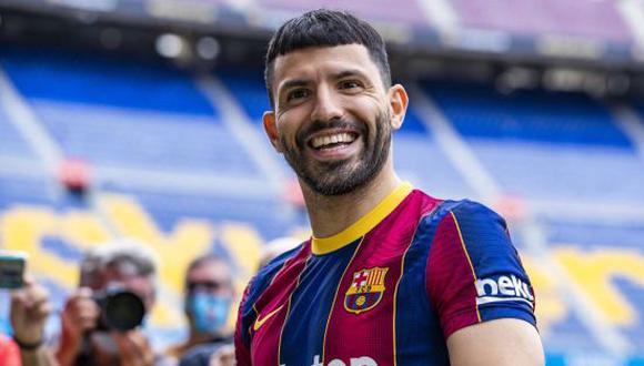 Sergio Agüero llegó al FC Barcelona en el pasado mercado de fichajes procedente del Manchester City. (Foto: Getty)