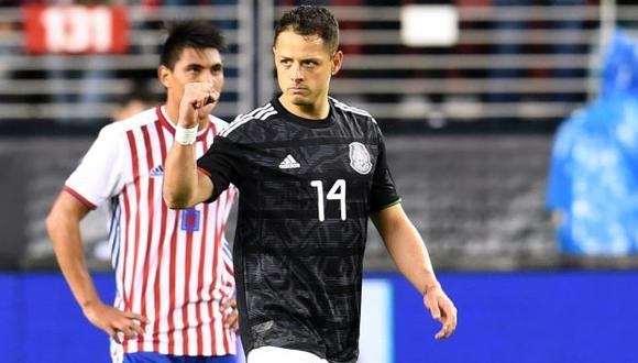 'Chicharito' Hernández aclaró que todavía no está retirado de la selección mexicana. (Foto: AFP)