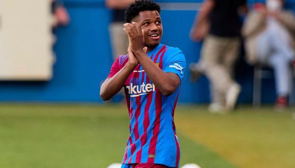 Ansu Fati está disputando su tercera temporada con el primer equipo del FC Barcelona. (Foto: Getty Images)