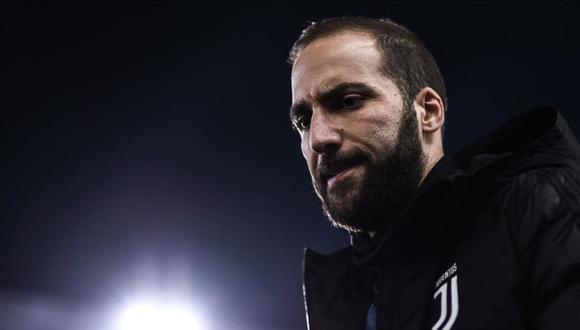Gonzalo Higuaín dejará la Juventus después de tres temporadas. (Foto: AFP)