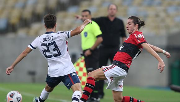 Vélez y Flamengo clasificaron a los 8vos de final de la Libertadores. (Foto: Conmebol)