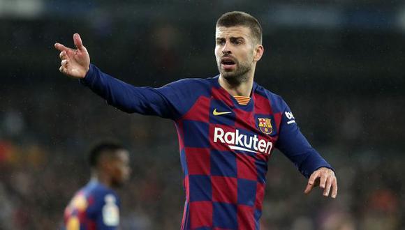 Barcelona confirmó la lesión de Gerard Piqué. (Foto: Getty Images)