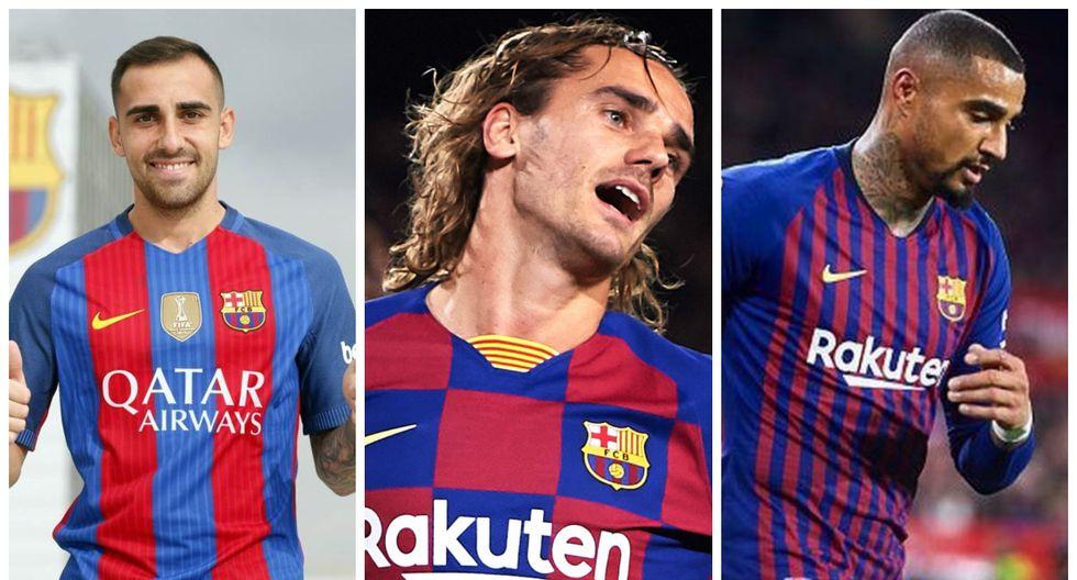 Algunos por necesidad, otros por convicción: Braithwaite y los 7 delanteros que firmó el Barcelona en las últimas cuatro temporadas [FOTOS]