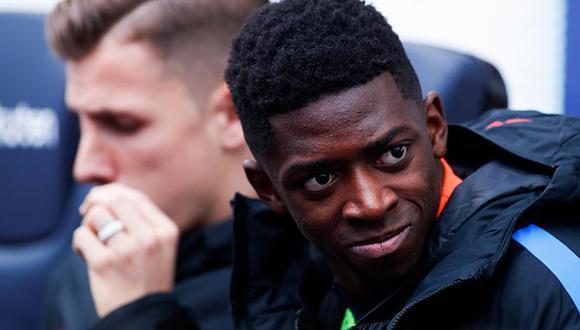 Ousmane Dembéle llegó al Barcelona desde el Dortmund a mitad de 2017.
