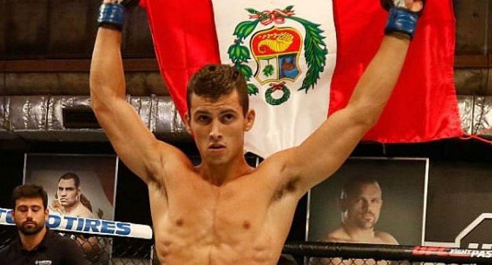 El peruano Claudio Puelles compite en la división ligera (70 kilos). (Getty Images)
