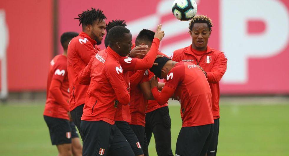 Los jugadores de la Selección Peruana relajaron los nervios antes de conocer la convocatoria oficial para la Copa América 2019. (Fotos: Fernando Sangama)