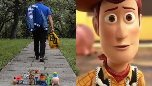 Un adolescente recreó una de las escenas más conmovedoras del clásico animado de Pixar para despedirse de una etapa de su vida académica.   Crédito: @jojo_xcviii / Twitter / Disney