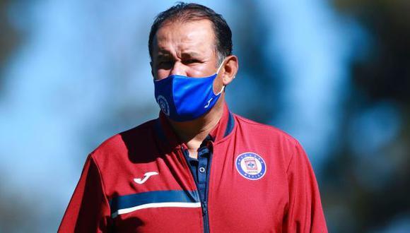 Juan Reynoso piensa en la Concachampions y luego se enfocará en América (Foto: Cruz Azul)