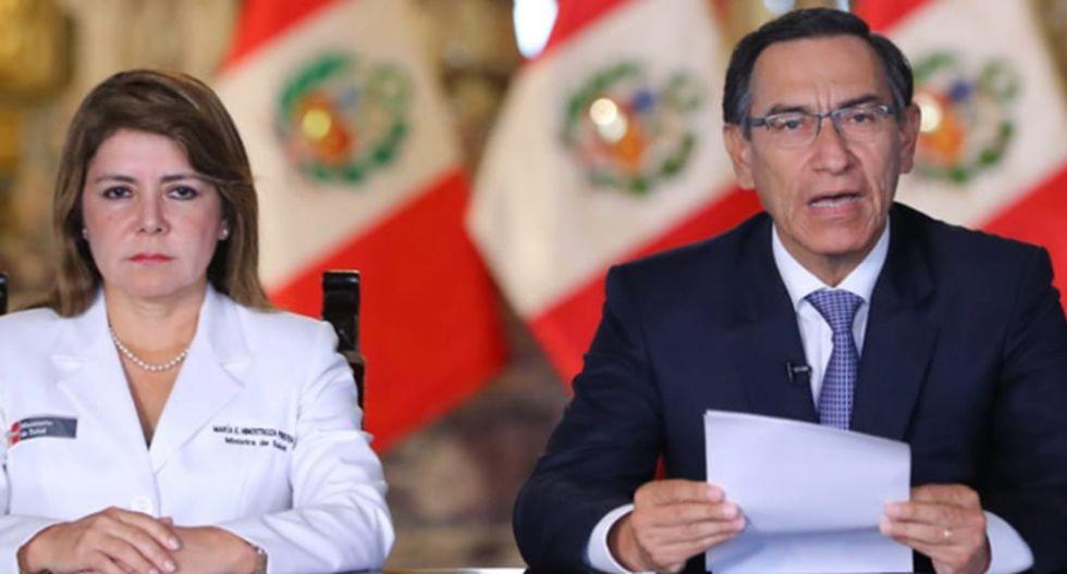 Martín Vizcarra dará mensaje a la Nación esta noche. (Foto: GEC)