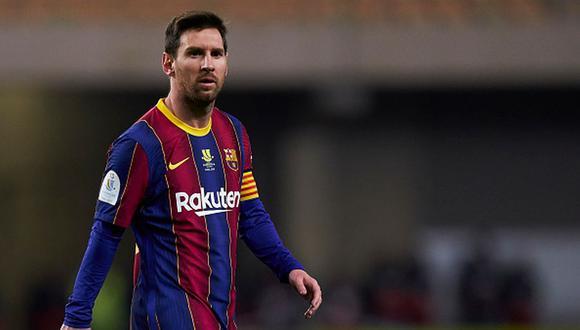 Ante el Athletic, Lionel Messi fue expulsado por primera vez en el Barcelona. (Getty)