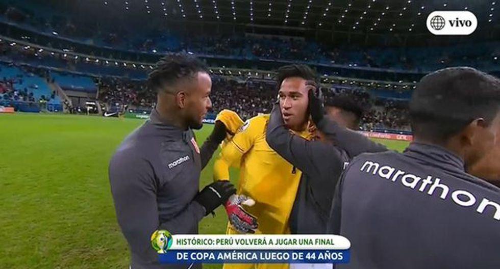 Así celebró la Selección Peruana su clasificación a la final de la Copa América 2019. (Captura)