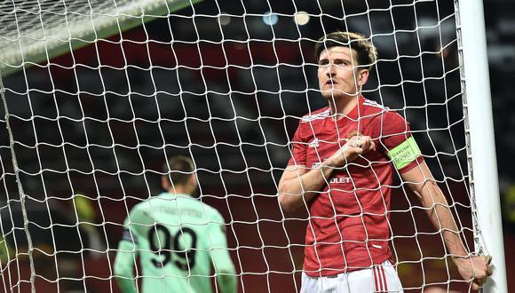 Harry Maguire es uno de los futbolista más destacados del Manchester United. (Foto: EFE)