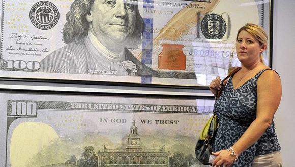El dólar se cotizaba en 19,8 pesos en México este miércoles (Foto: AFP).