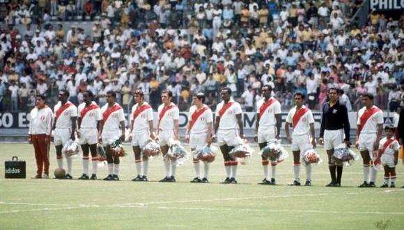 La Selección Peruana quedó séptima en México 1970. (Foto: Getty Images)