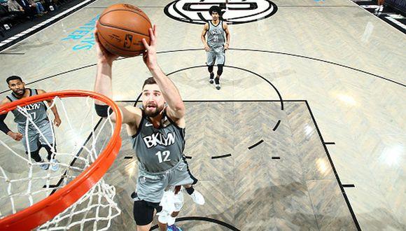 Brooklyn Nets venció a Charlotte Hornets con 22 puntos de Jarrett Allen. (Getty Images)
