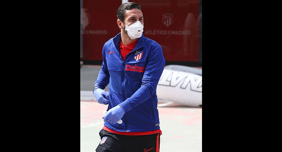 Koke (Atlético de Madrid). (Foto: Atlético de Madrid)