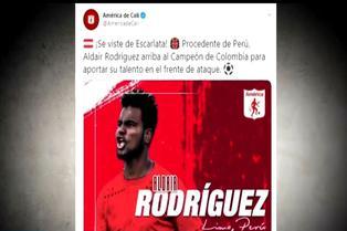 Aldair Rodríguez celebrará con ritmo peruano en Colombia