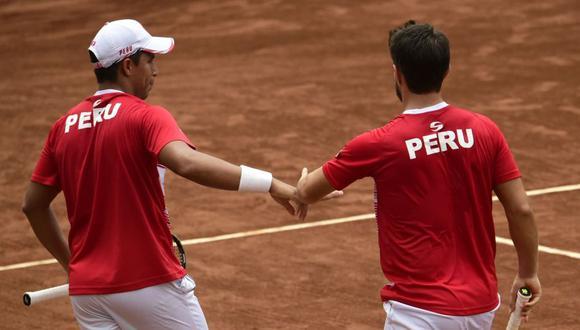 Perú anunció al quinteto que jugará contra Suiza en los playoffs para el Grupo Mundial de la Copa Davis. (Federación Peruana de Tenis)