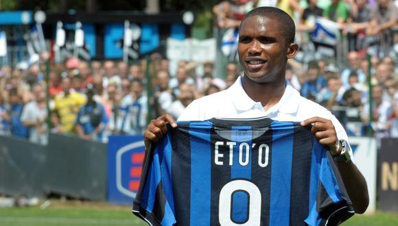 Samuel Eto'o llegó al Inter en el 2009 procedente del Barcelona. (Foto: Getty)