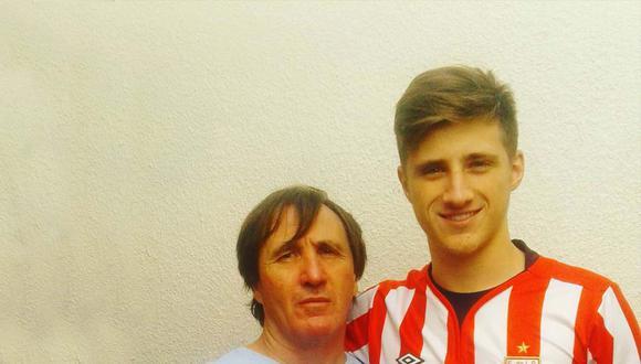 Patricio Guatia murió tras descompensarse en una práctica de fútbol. (Foto: Instagram)