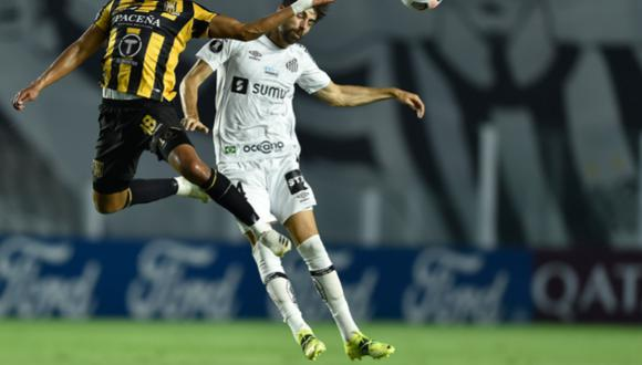 Santos goleó 5-0 a The Strongest por la Copa Libertadores 2021. (Conmebol)