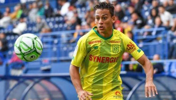 Cristian Benavente llegó a préstamo al Nantes para la presente temporada, procedente del Pyramids. (Foto: FC Nantes)
