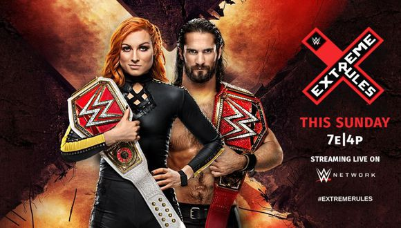 Extreme Rules 2019: afiche promocional. (WWE)